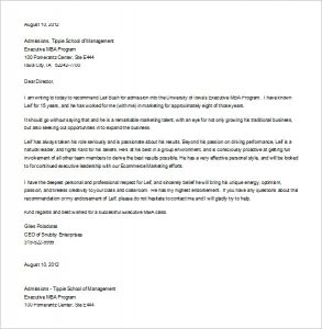 letter of recommendation template for student free download letter of recommendation for student leadership