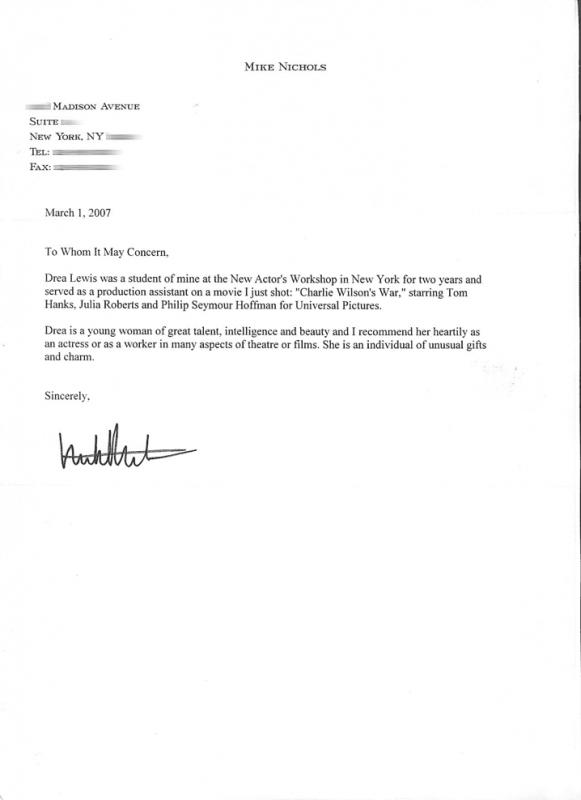 Letter Of Recommendation Templates Word  Letters Of Recommendation Templates