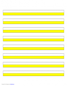 letter of reference for employment highlighter paper yellow narrow lines l