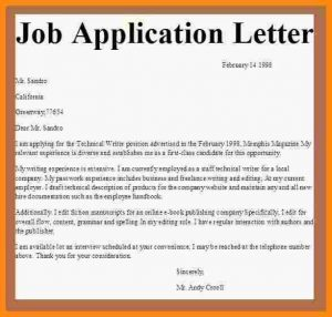 letter of reference for employment sample of an application letter for employment application letter for job employment jobapplicationletter