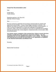 format a letter of recommendation