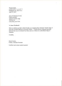 letter of resignation templates week notice of resignation examples of letters of resignation two week notice