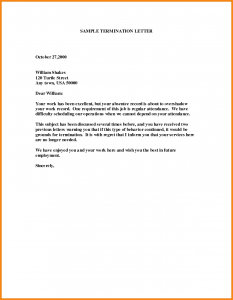 letter of termination of employment letter of termination of employment letter of termination of employment