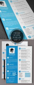 letter templates free free modern resume templates psd mockups freebies graphic