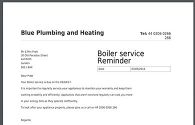 letter to landlords service reminder pdf