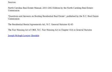 letter to lanlord thinking about renting learn nc tenant laws and landlord rights