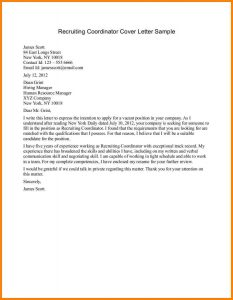 letter to recruiter email a recruiter sample amazing recruiter cover letter layout free download word recruiting coordinator cover letter sample