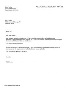 letter to vacate tenant move out notice vacating tenant notices ez landlord forms