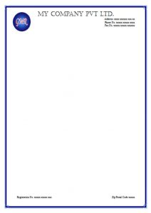 letterhead template free download m letterhead