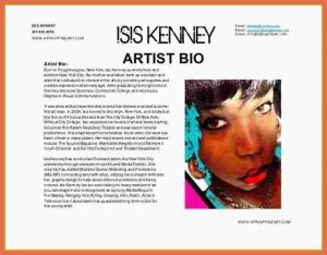 letters for donation artist bio example artist bios samples paradochart pertaining to artist bio template