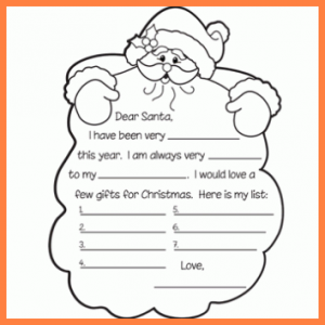 letters for donation letter to santa template black and white letter to santa template black and white kids free dear santas beard party craft printable