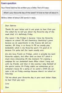 letters of application example informal letter sample to a friend letter