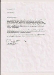 letters of recommendation example lvn cover letter