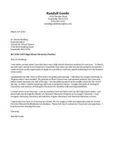letters of recommendation for grad school high school teacher cover letter sample