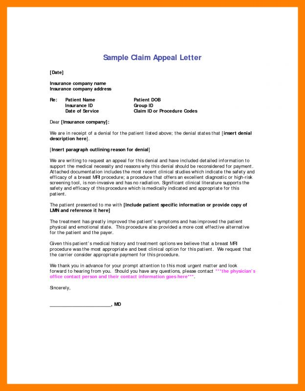 Appeal Letter For College Admission Template