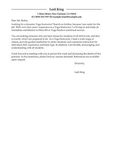 letters of recommendation for student teachers clyoga instructor wellness