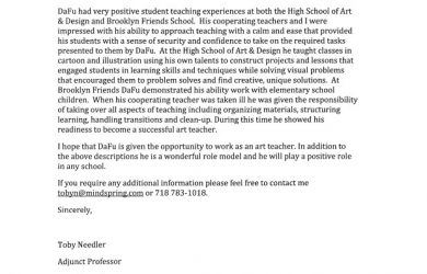 letters of recommendation for student teachers sample teacher recommendation letter for college admission