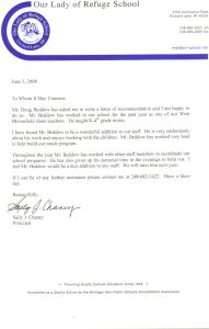 letters of recommendations for student teachers doug beddow music teacher recommendation letter