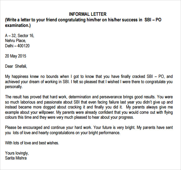 letters to landlord