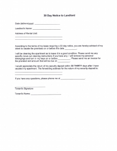 letters to landlords bg