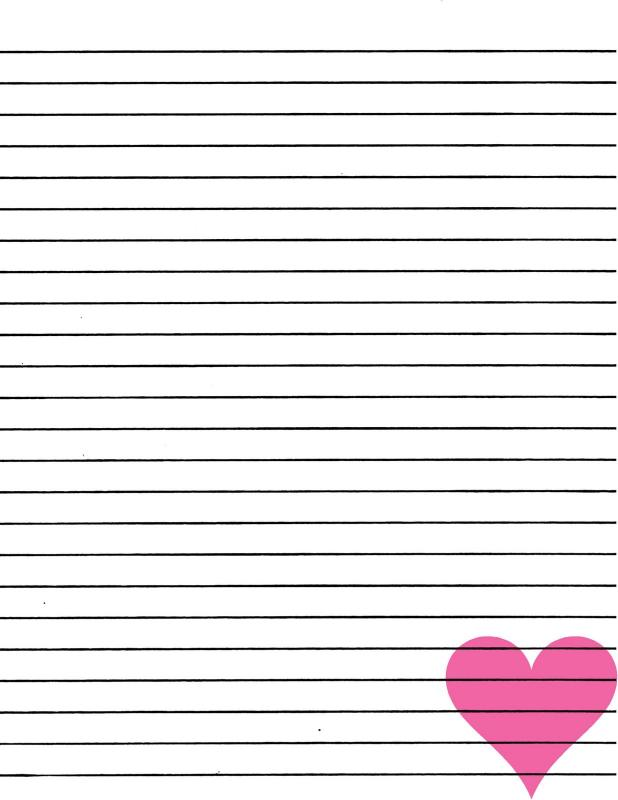 lined paper printable