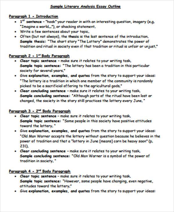 world literature essay examples