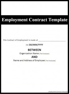 loan agreement contract