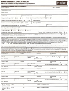 loan agreement contract printable employment applications