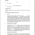 loan agreement template loan contract template 575