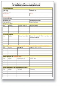 log book template