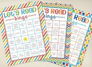 log book template lets read reading bingo x