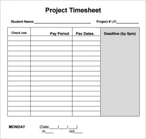 log sheet templates daily project timesheet