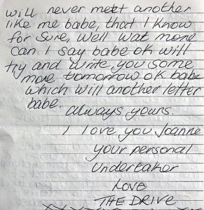 long love letters for her from the heart letter to julie stretch from gary stretch