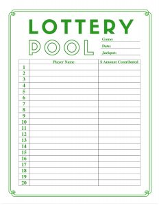 lottery pool contract lottery pool sign up sheet