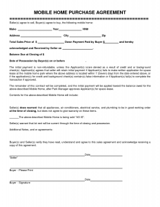 lottery pool contract mobile home purchase agreement template