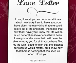 love letter for her from the heart