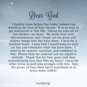 love letter to my husband snowpryaer