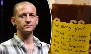 love note for him chester bennington