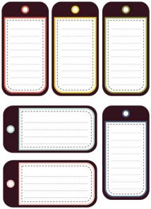luggage tag template word free printable luggage tags template