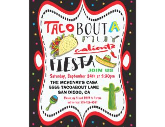 lunch invitation templates taco mexican fiesta party invitation recdcbafccaeab zkrqs