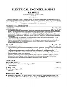 ma resume templates electrician skills for resume