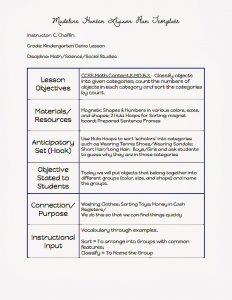 madeline hunter lesson plan template madeline hunter lesson plan template mfhepbg