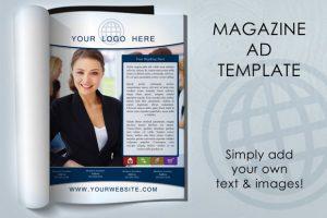 magazine ad template magazine f