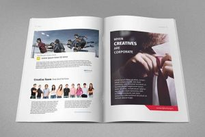 magazine ads template free magazine ad template