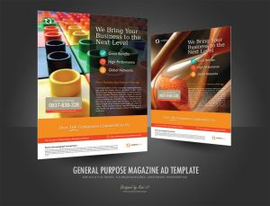 magazine ads template preview magazine ad template
