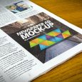 magazine advert templates free newspaper advert mock up