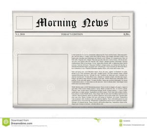 magazine advert templates newspaper headline photo template