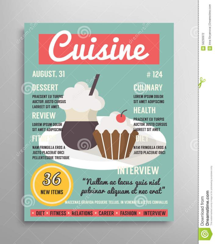 magazine advertising templates