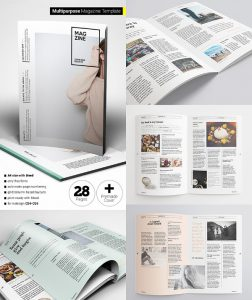 magazine cover template psd creative flexible magazine template layouts