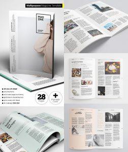 magazine cover template psd creative flexible magazine template layouts
